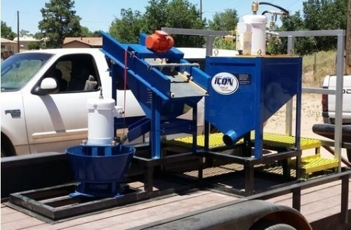 portable gold processing plant
