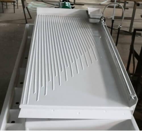 wilfley laboratory shaker table deck