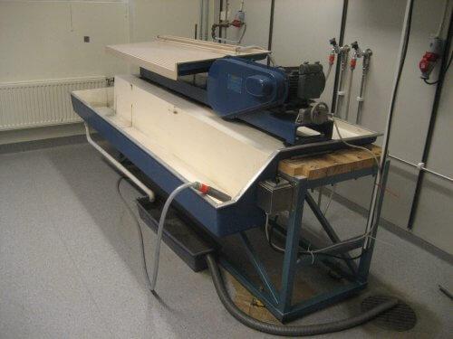 wilfley laboratory table
