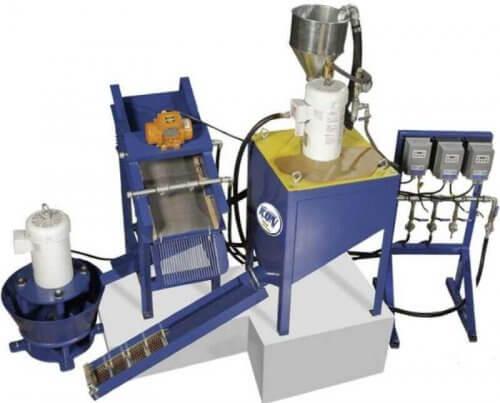 fine gold processing plant