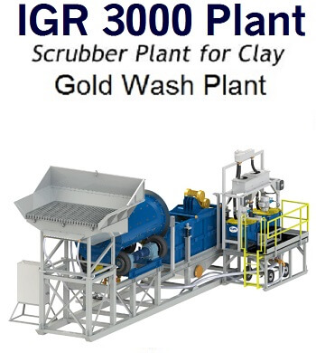 complete gold wash--plant