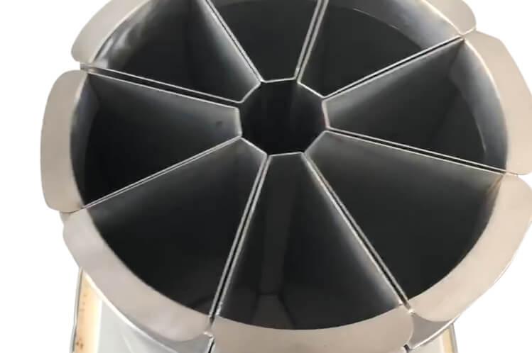 dry bulk rotary sample splitter divider (1)