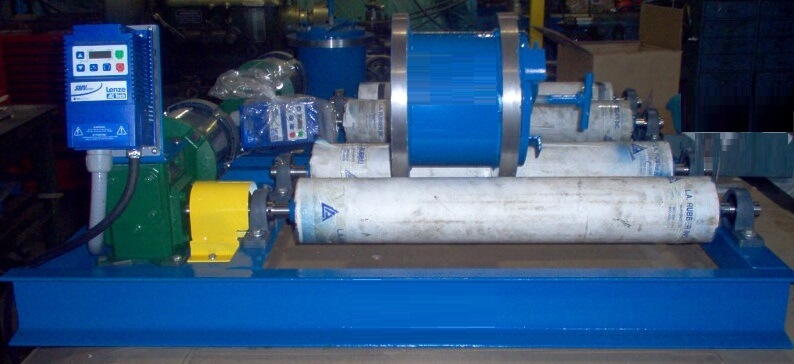 laboratory ball mill roller station