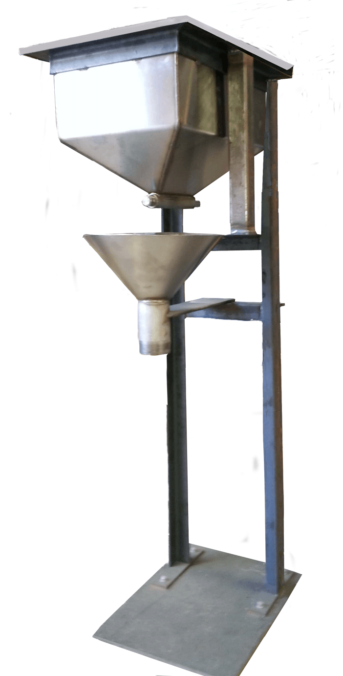 merrill crowe zinc dust feeder-cone