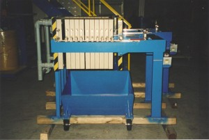 merrill crowe zinc precipitate filter press (2)