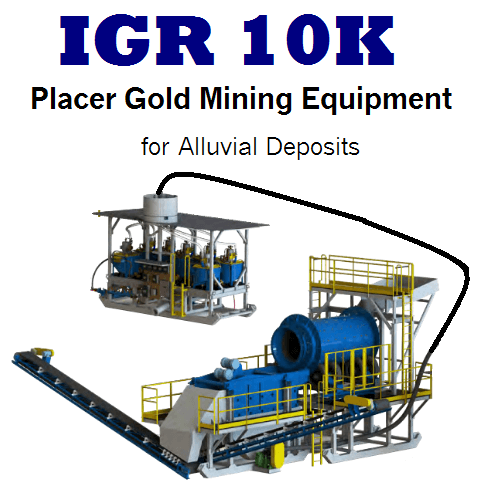 placer gold mining equipment for sale