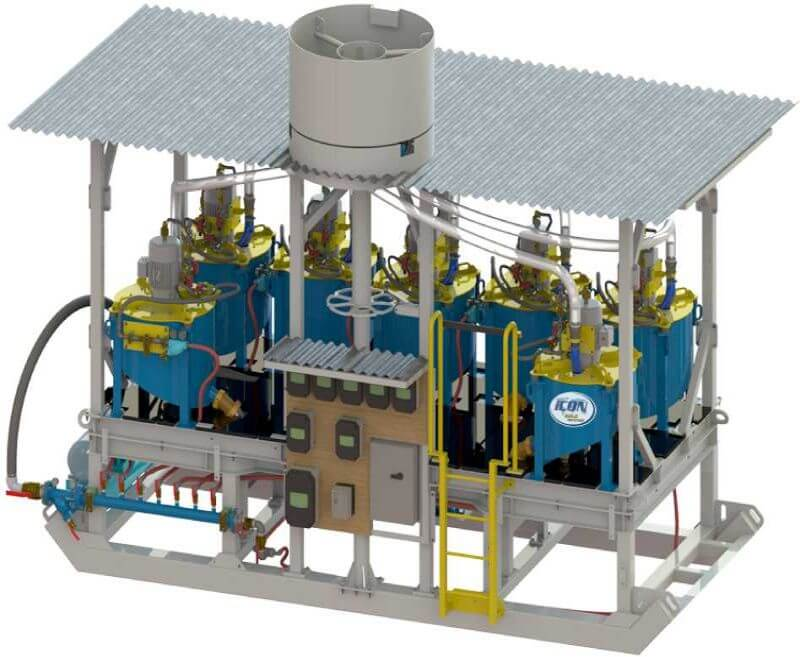 placer gold mining equipment-gravity-concentrator-battery-plant