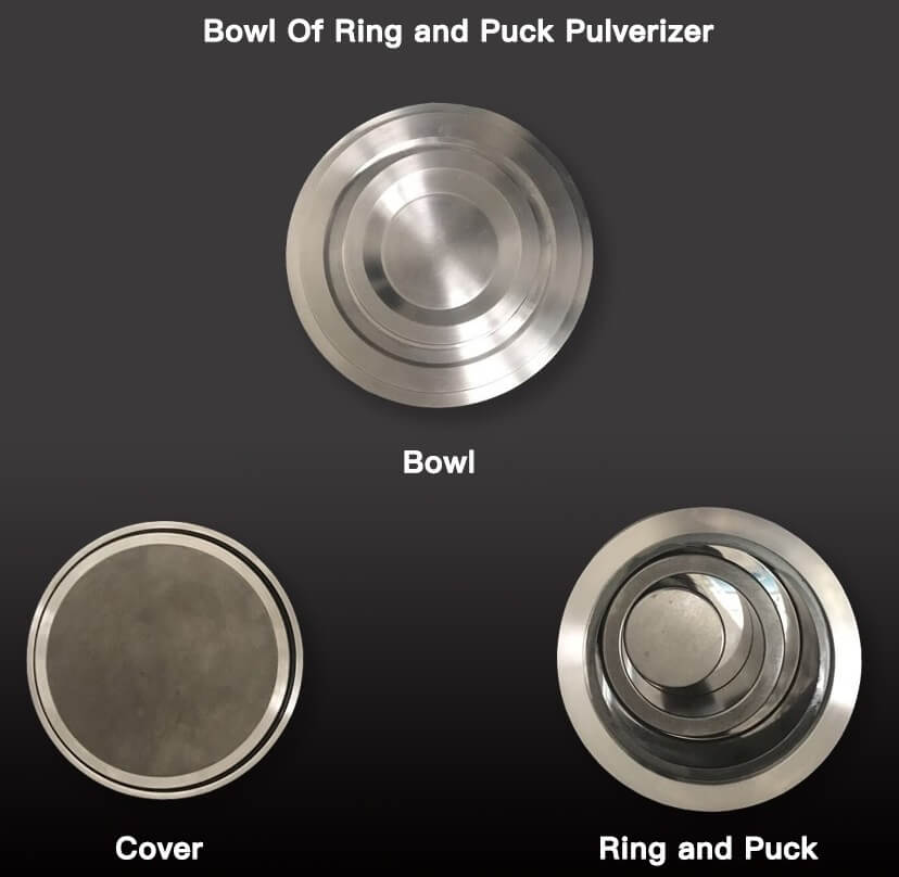 ring and puck pulverizer bowl