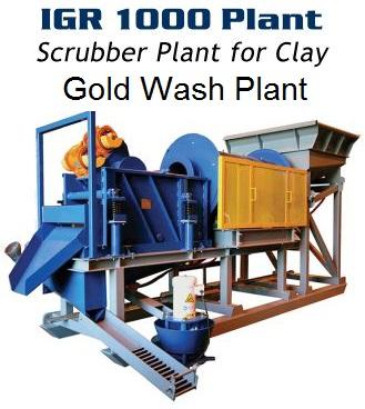 scrubber trommel gold washplant