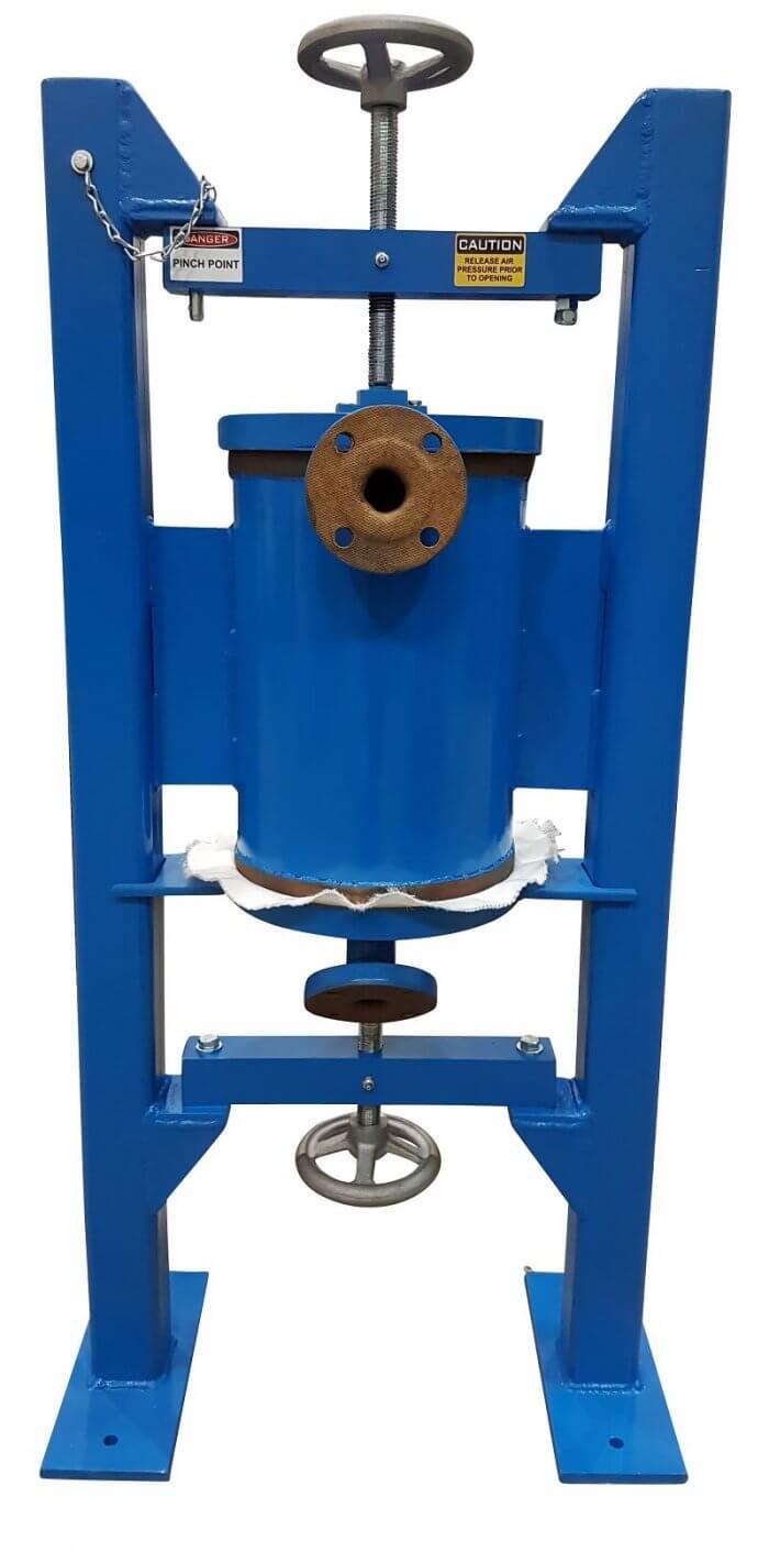 stand alone sample pressure filter