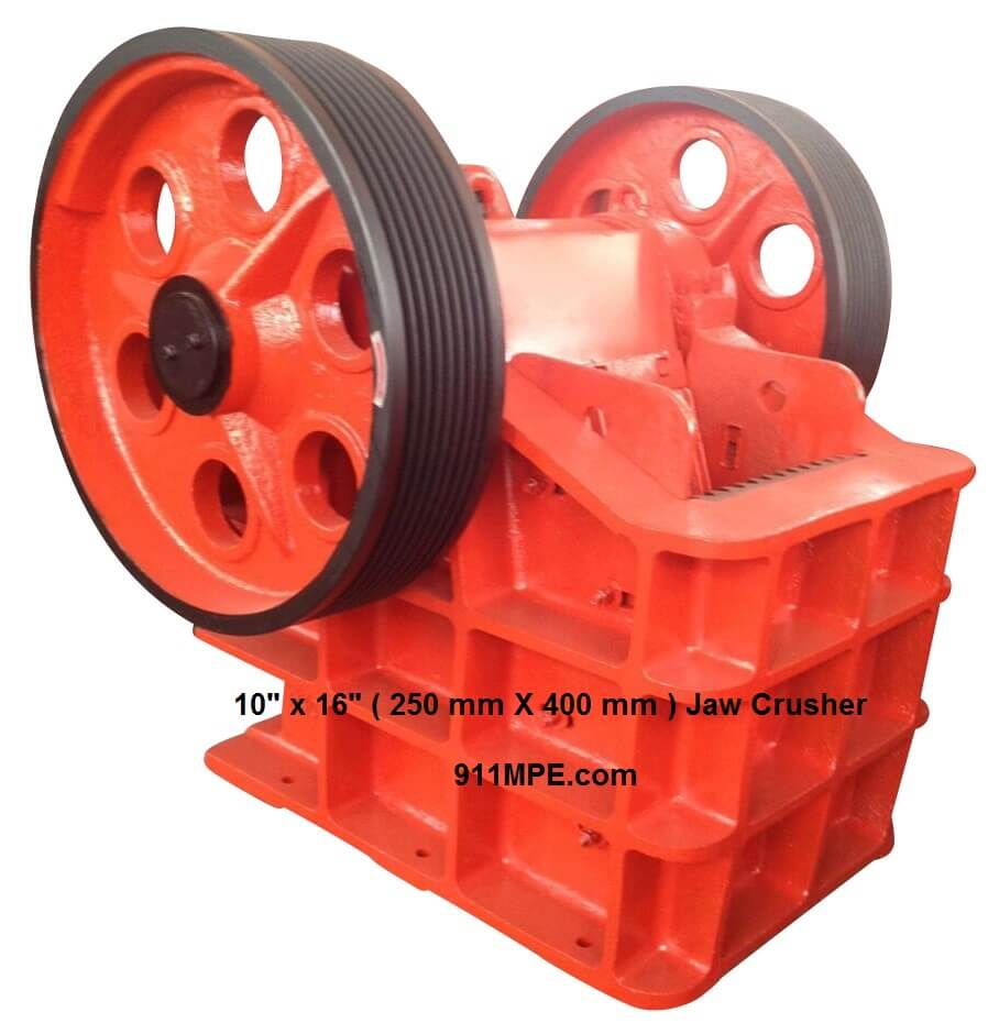 10 16 jaw crusher