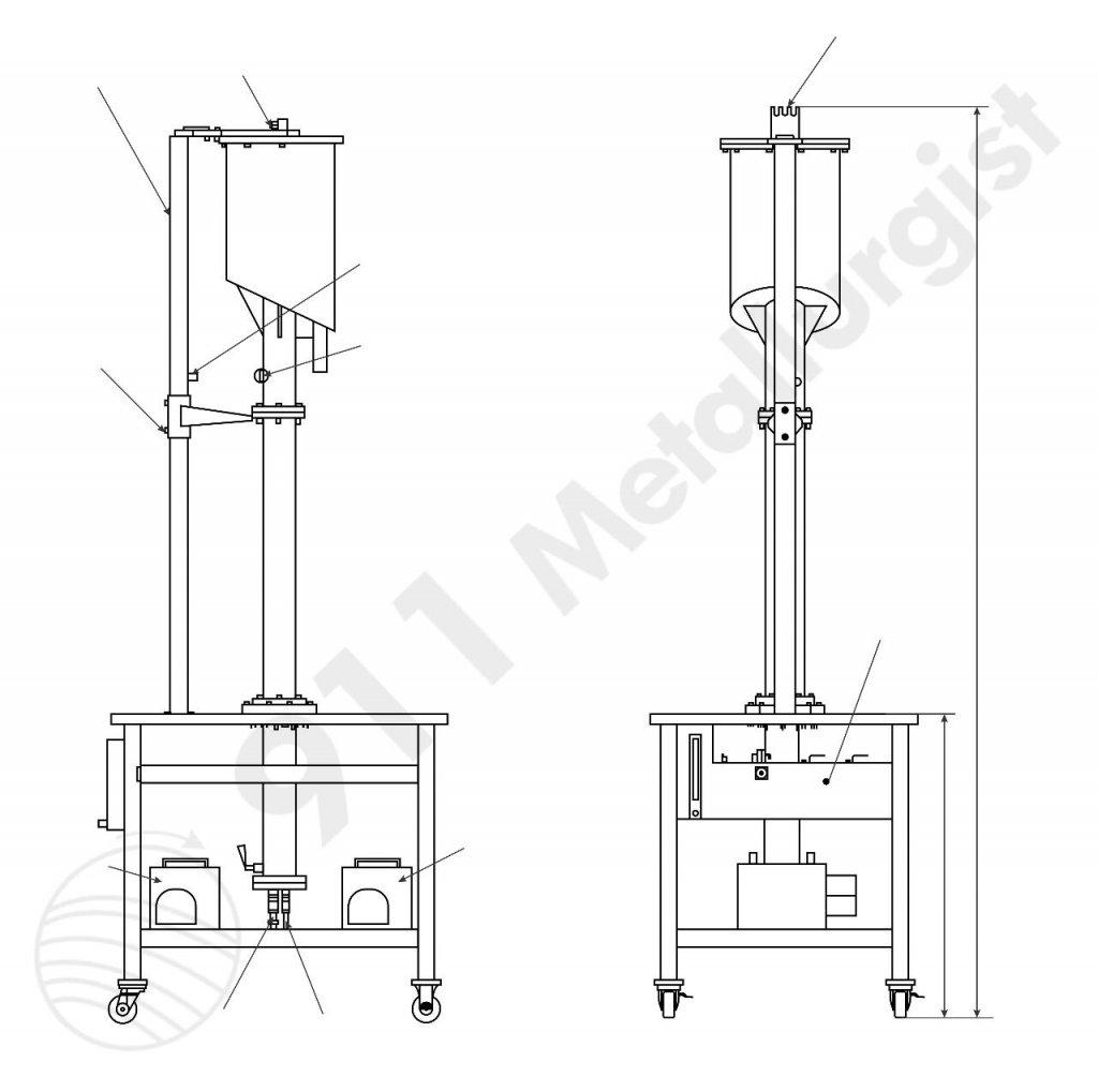 laboratory column flotation