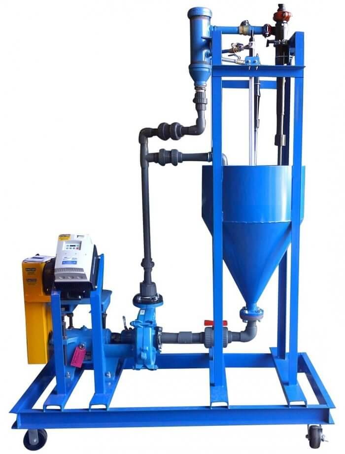 laboratory hydrocyclone testing equipment