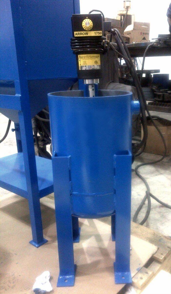 laboratory slurry agitator - tank mixers