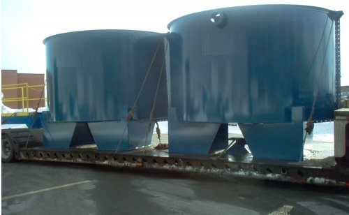 large industrial ccd thickener