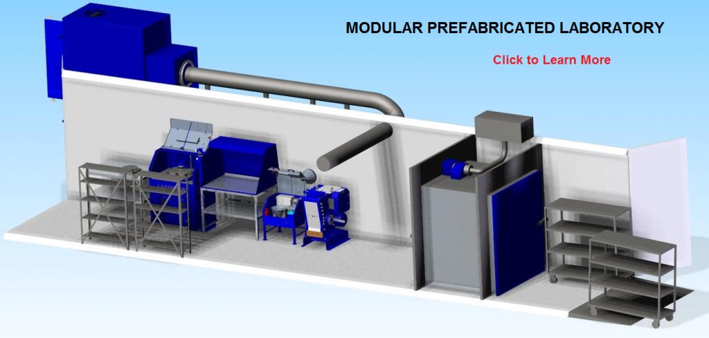 prefabricated laboratory building