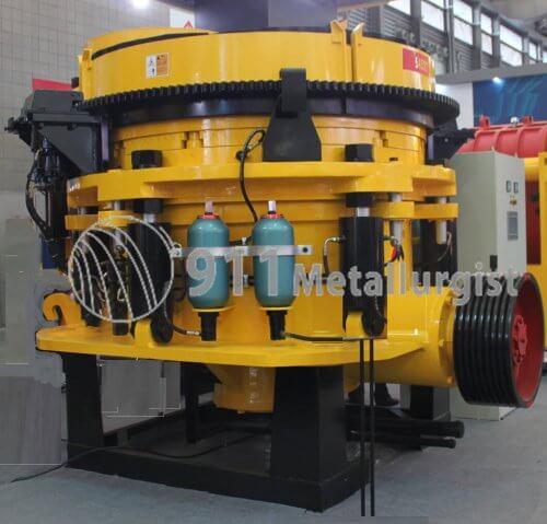 single cylinder hydraulic cone crusher (1)