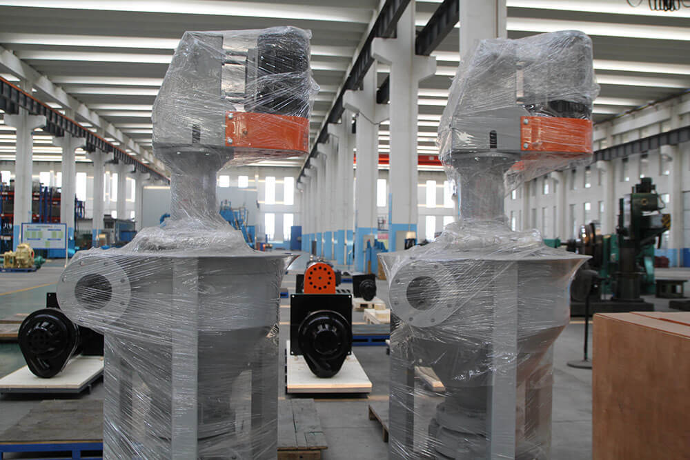 vercical flotation froth pumps