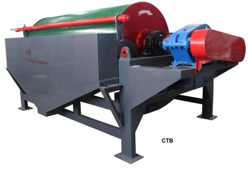 wet drum magnetic separator (1)