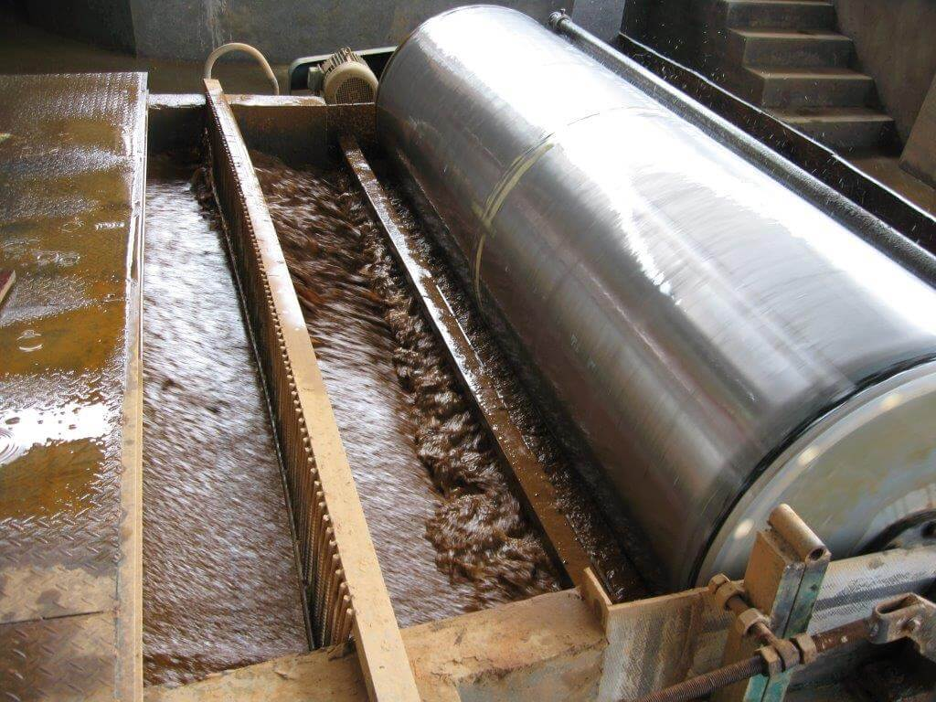 Wet Magnetic Drum Separator Typical Mill Circuit 19