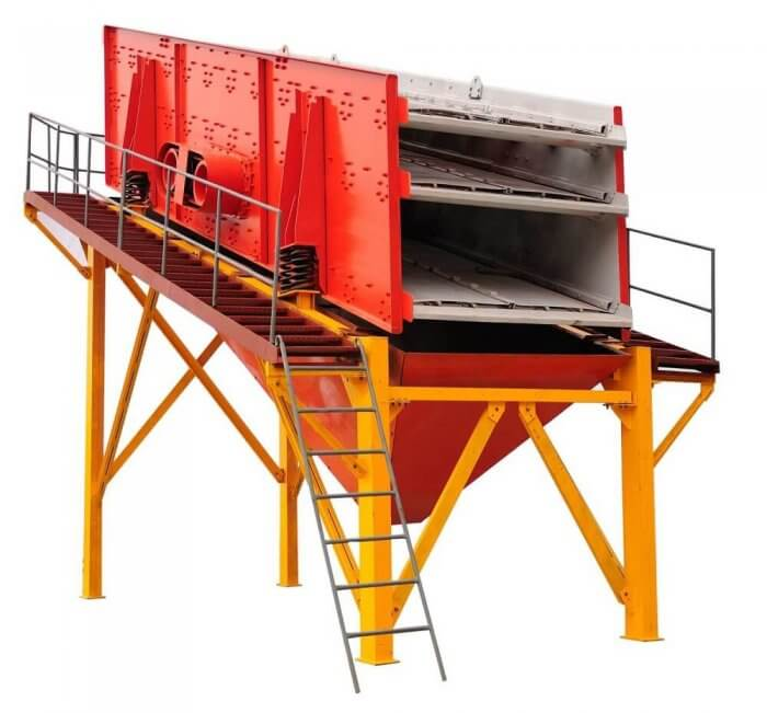double & triple deck vibratory screen (1)