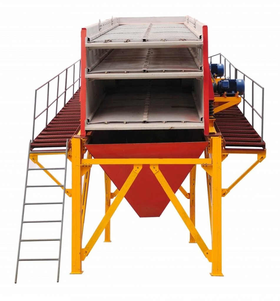 double & triple deck vibratory screen (4)