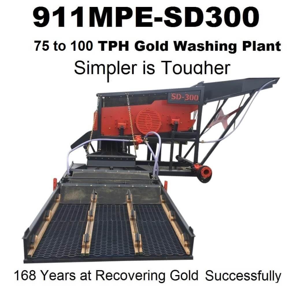 gold wash plant