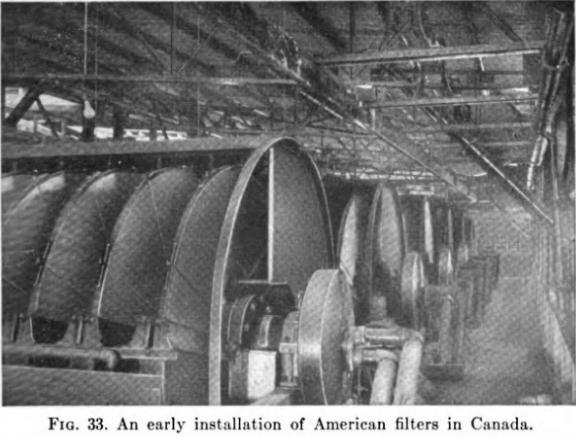 ceramic vacuum disk filter installation-1