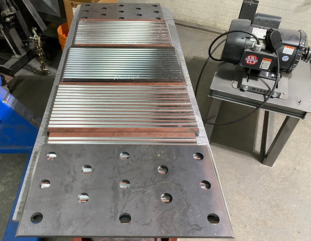 optional jaw crusher waved liners (3)
