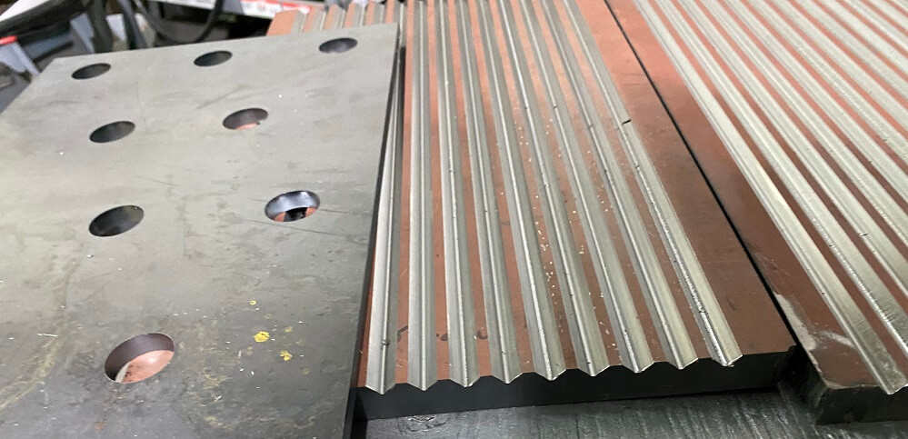 optional jaw crusher waved liners (6)