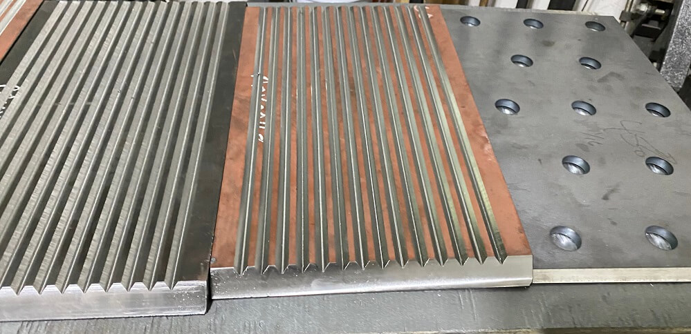 optional jaw crusher waved liners (8)