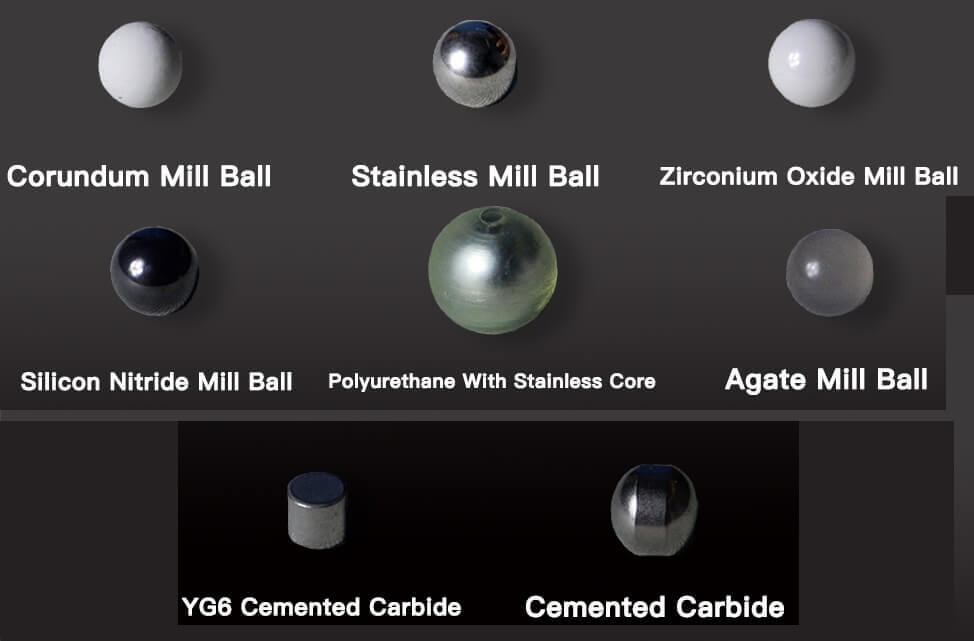 planetary ball mill balls