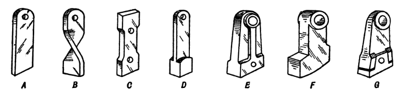 hammer mill types of hammers copy