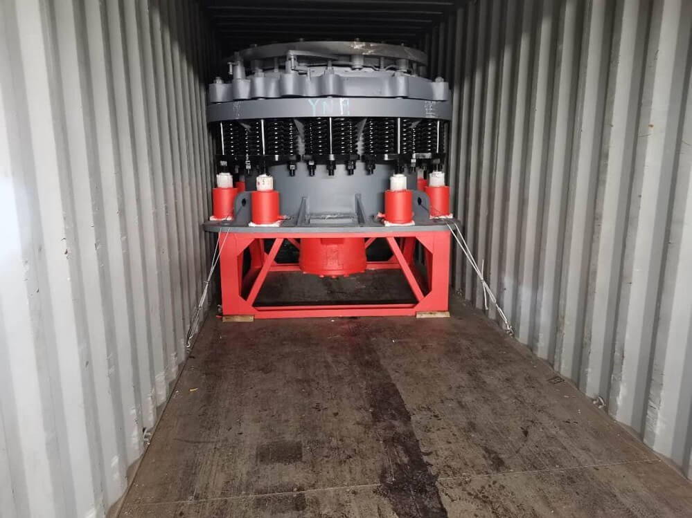 cone crusher in shipping container