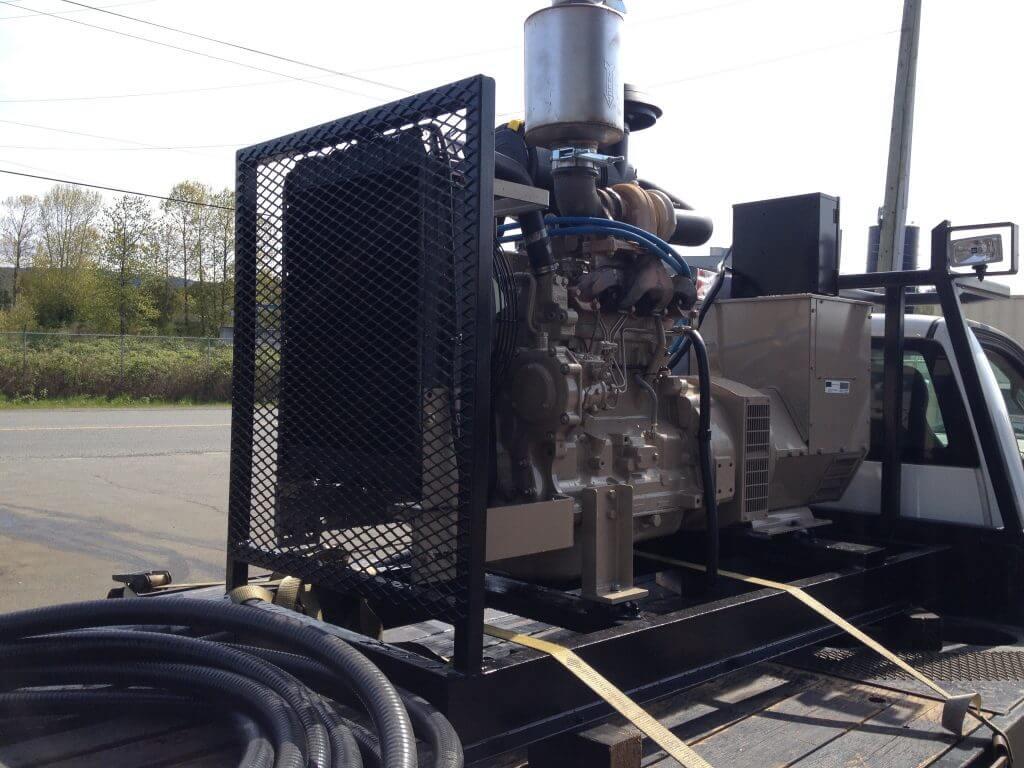 diesel gold wash plant generator