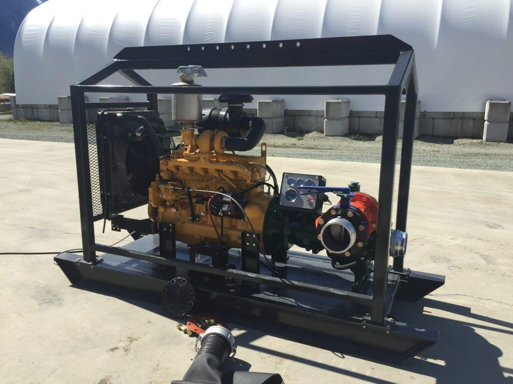 gold wash plant water pump