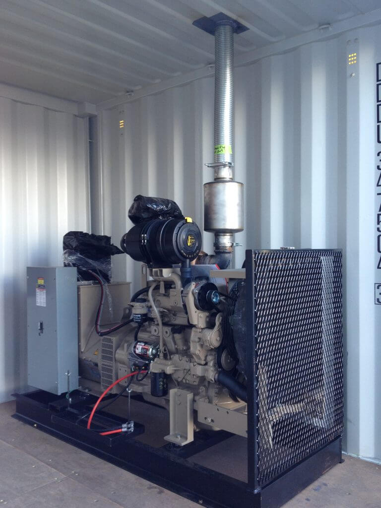 wash plant generator diesel powered
