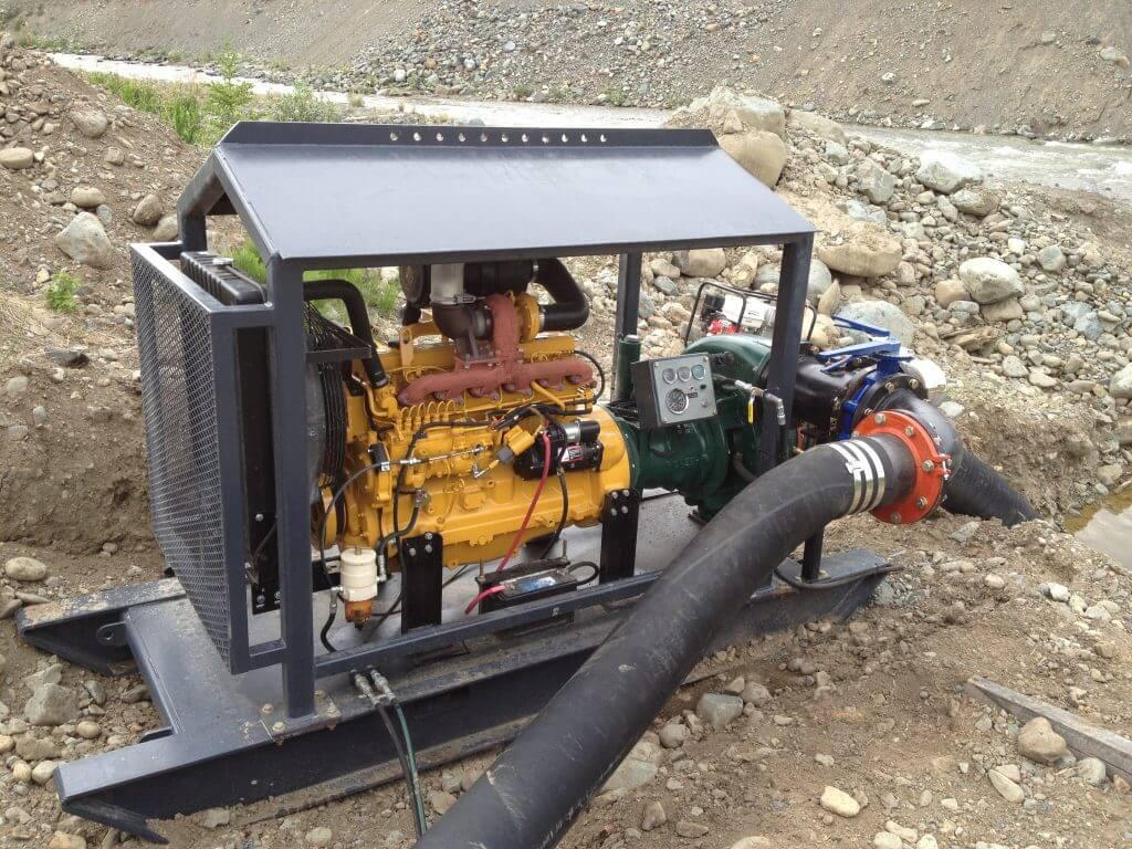 wash plant water pump diesel