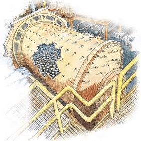cianuración de oro y plata molienda