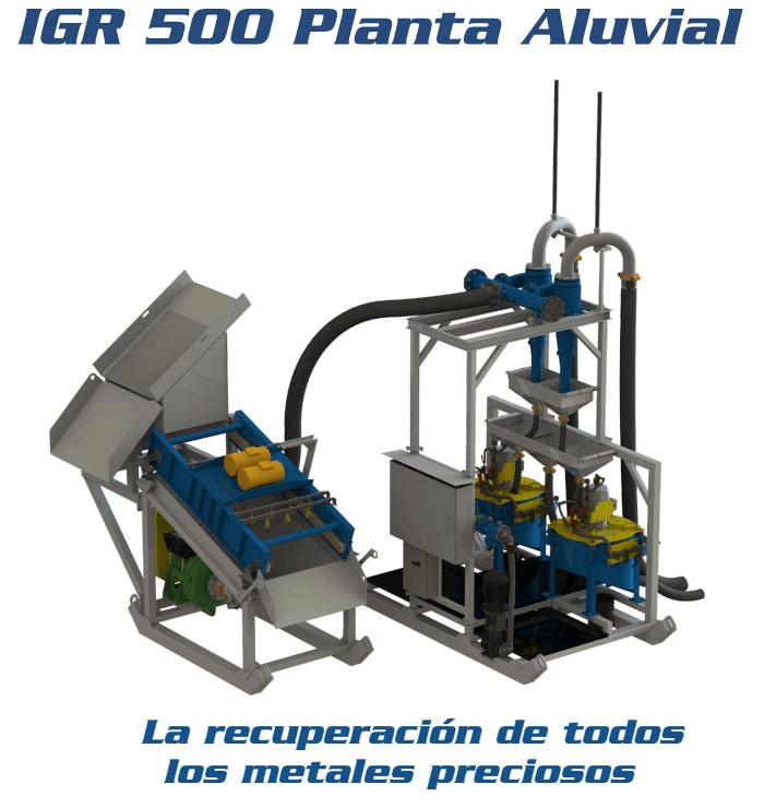 recuperar oro igr 500 planta