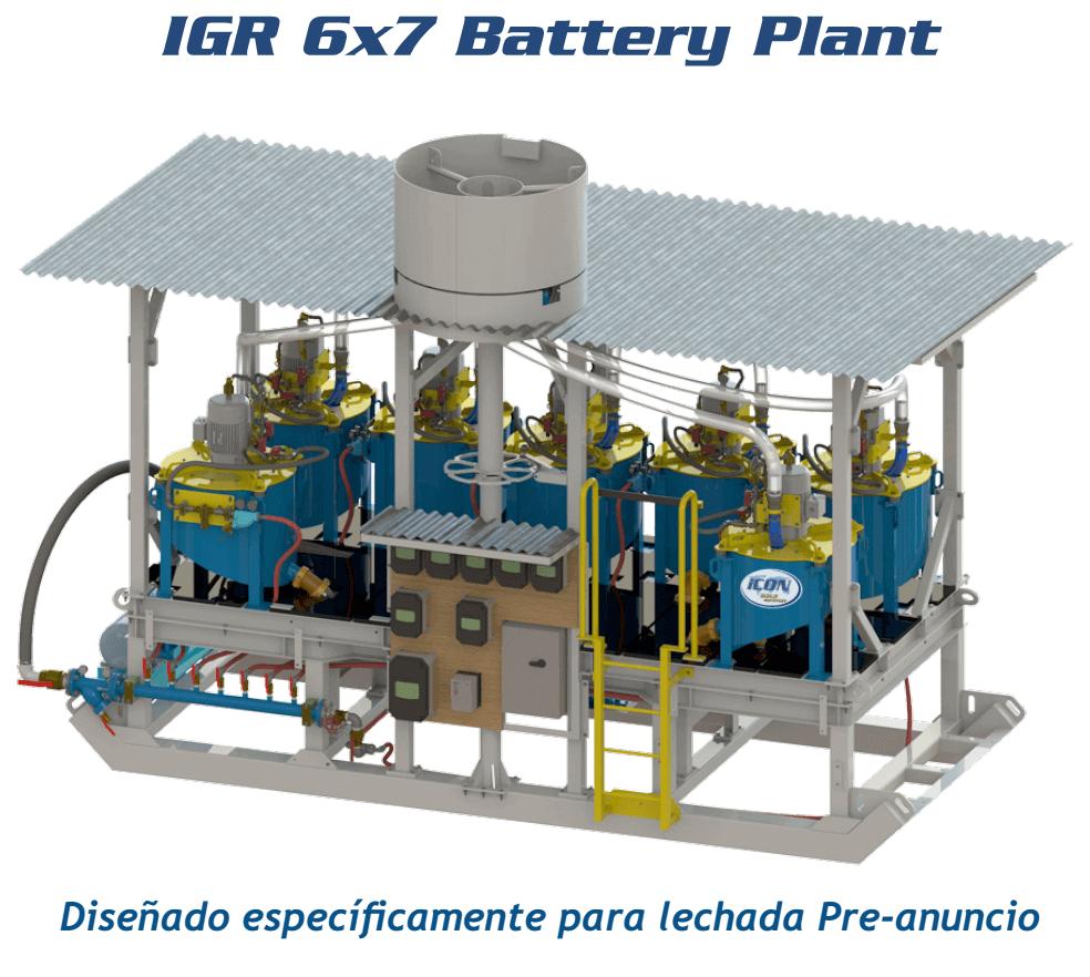 recuperar oro igr 6x7 battery plant