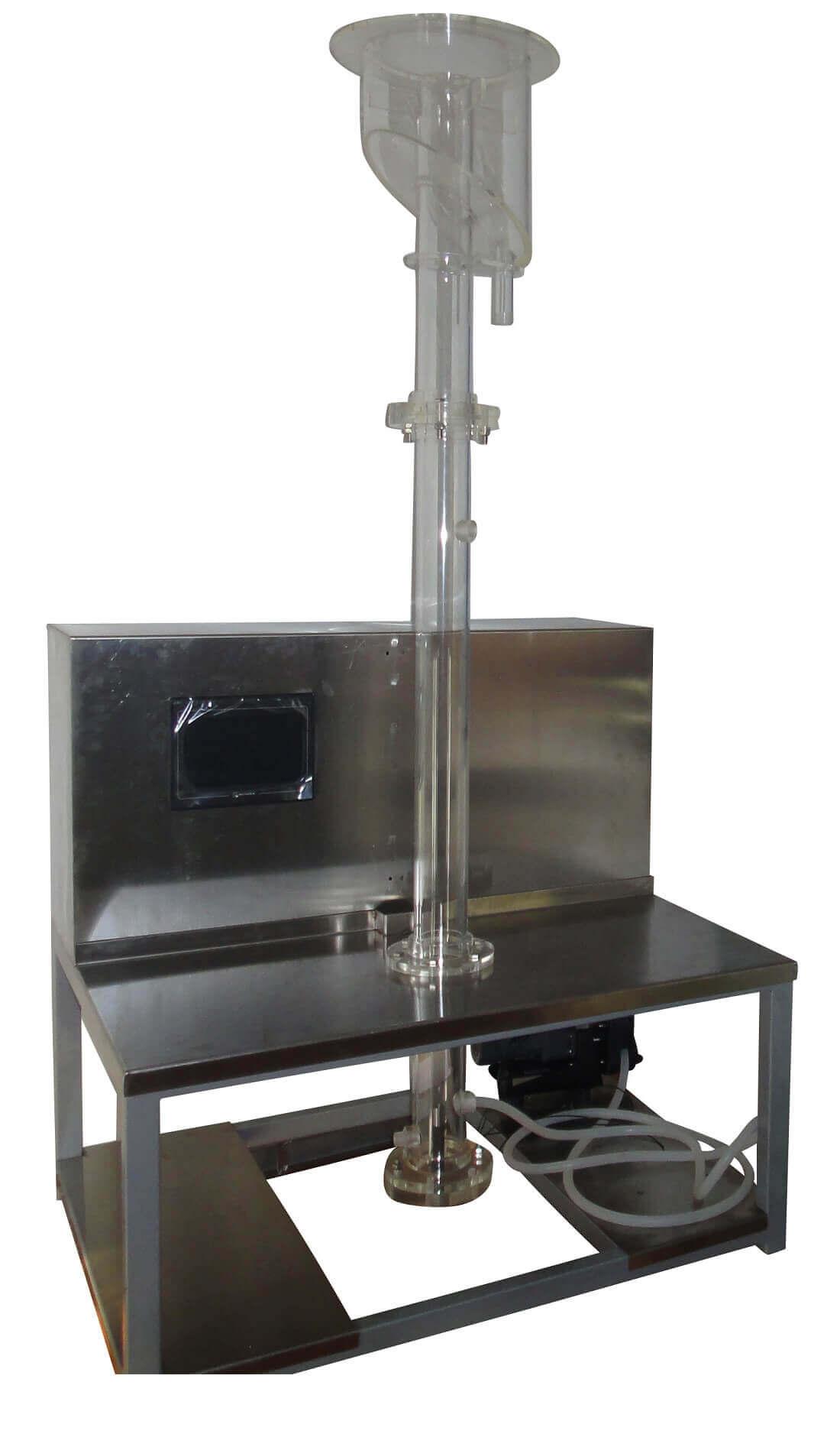 columna de flotación para laboratorio