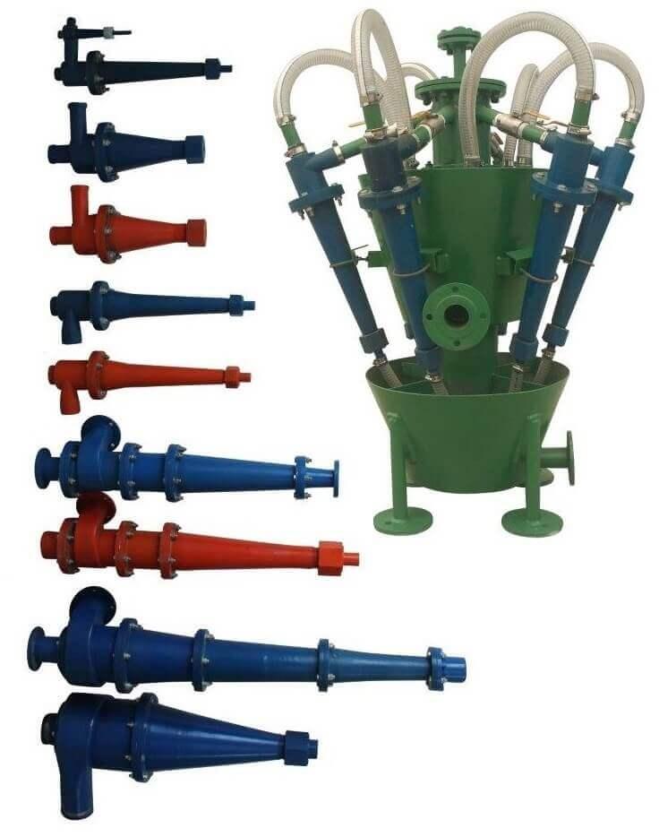 pu hidrociclones de poliuretano
