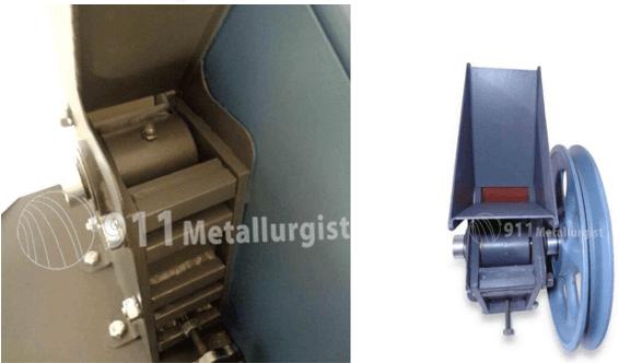 "mini trituradora de rocas 1"" x 2"" pulverizador para muestras xrf crusher"