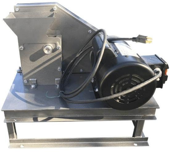 """mini trituradora de rocas 1"""" x 2"""" pulverizador para muestras xrf"""