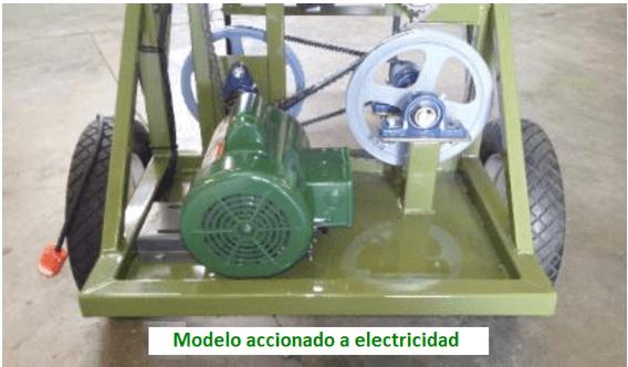 mini trommel para oro electricidad