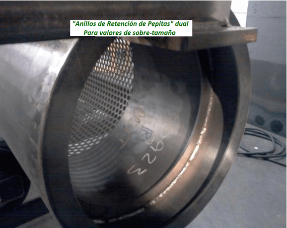 "modelo de trommel portátil para oro ""159 v"" annilos"