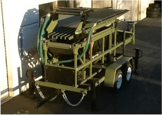 "modelo de trommel portátil para oro ""2410 v"" ajuste wash plant"