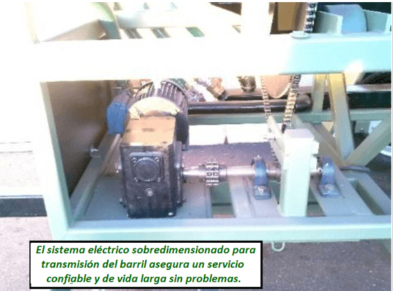 "modelo de trommel portátil para oro ""2410 v"" electrico"
