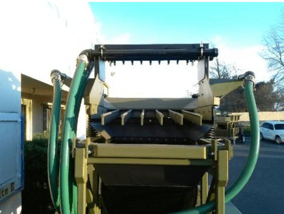 "modelo de trommel portátil para oro ""2410 v"" heckler fabrication"